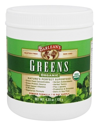 Zoom View - Organic Greens Powder Formula