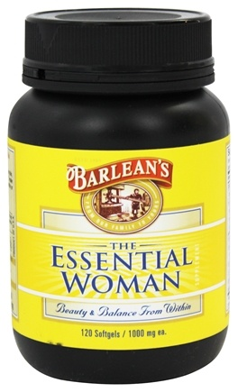 Barlean's - The Essential Woman 1000 mg. - 120 Softgels