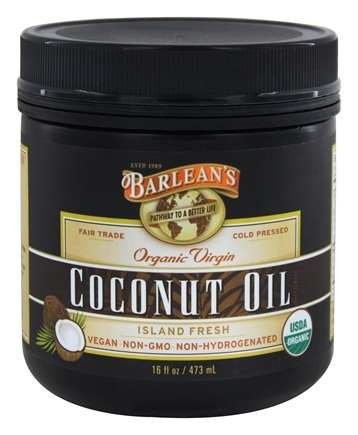 Barlean's - Organic Virgin Coconut Oil - 16 oz.