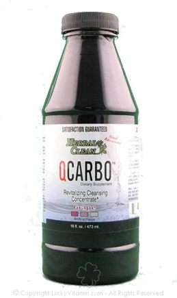 DROPPED: BNG Enterprises - Herbal Clean Qcarbo Revitalizing Cleanser Grape Flavor - 16 Oz.