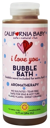 Zoom View - Aromatherapy Bubble Bath With Two Bubble Wands I Love You