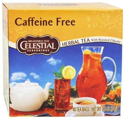 Zoom View - Caffeine-Free Herbal Tea with Roasted Chicory