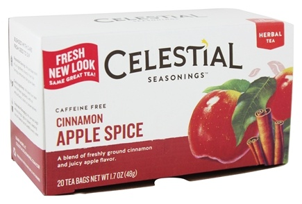 Zoom View - Cinnamon Apple Spice Herb Tea Caffeine Free