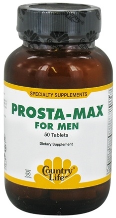 DROPPED: Country Life - Prosta-Max For Men - 50 Tablets CLEARANCE PRICED