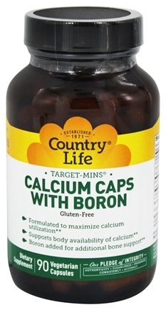 Zoom View - Target-Mins Calcium Caps with Boron