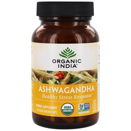 Zoom View - Ashwagandha Relieves Stress & Builds Vitality