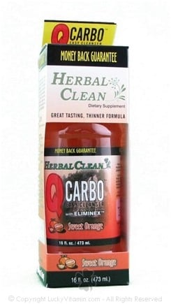 DROPPED: BNG Enterprises - Herbal Clean Quick Carbo Liquid Orange Flavor - 16 oz.