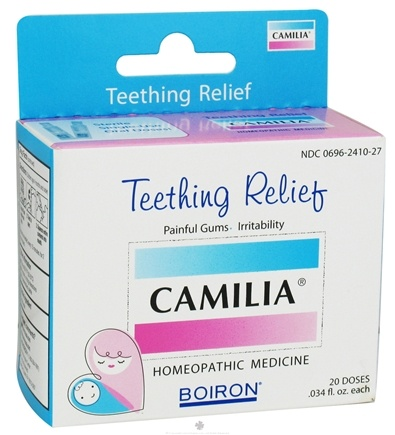 Zoom View - Camilia Teething Relief