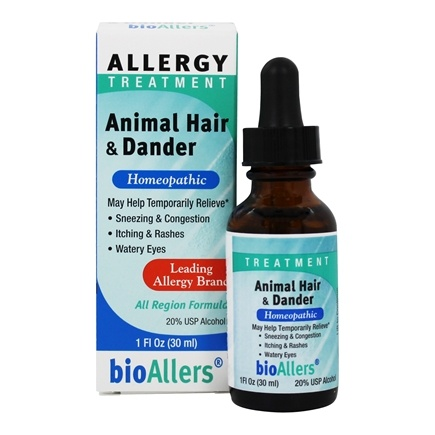 bioAllers - Animal Hair/Dander #703 - 1 oz.