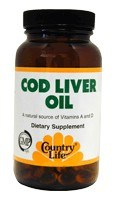 DROPPED: Country Life - Cod Liver Oil - 100 Softgels