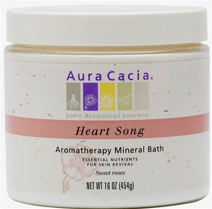 DROPPED: Aura Cacia - Mineral Bath Heartsong - 16 oz. CLEARANCE PRICED