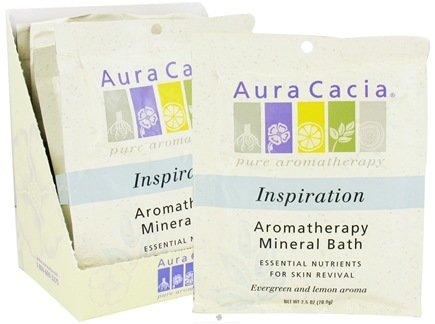 DROPPED: Aura Cacia - Aromatherapy Mineral Bath Inspiration - 2.5 oz. CLEARANCE PRICED