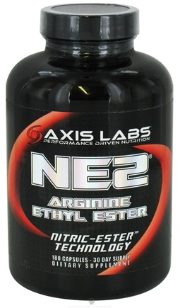 DROPPED: Axis Labs - NE2 Arginine Ethyl Ester Nitric-Ester Technology - 180 Capsules