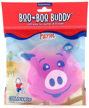 DROPPED: Boo Boo Buddy - Cool Pain Relief Ice Pack Farm Animal Design