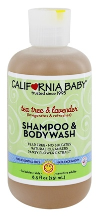 California Baby Shampoo Bodywash Tea Tree Lavender