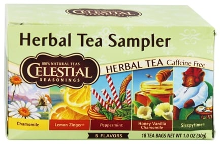 DROPPED: Celestial Seasonings - Herb Tea Sampler