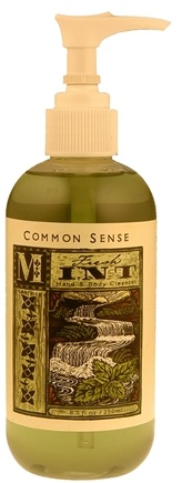 DROPPED: Common Sense Farm - Fresh Mint Hand & Body Cleanser - 8.5 oz.