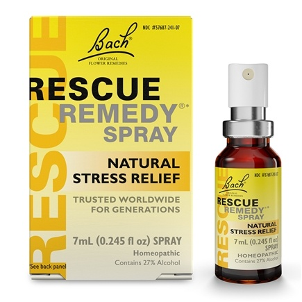Bach Original Flower Remedies - Rescue Remedy Spray - 7 ml.