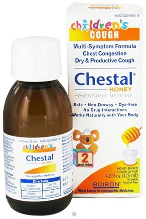 DROPPED: Boiron - Chestal Honey For Children Homeopathic Cough Syrup - 4.2 oz.
