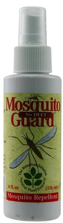 DROPPED: Botanical Solutions - Mosquito Guard No Deet Mosquito Repellent Spray - 4 Oz.