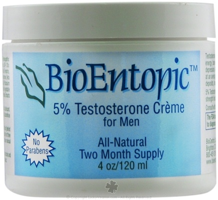 Zoom View - 5% Testosterone Creme for Men