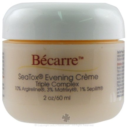DROPPED: BioEntopic - Becarre SeaTox Evening Creme Triple Complex - 2 oz.