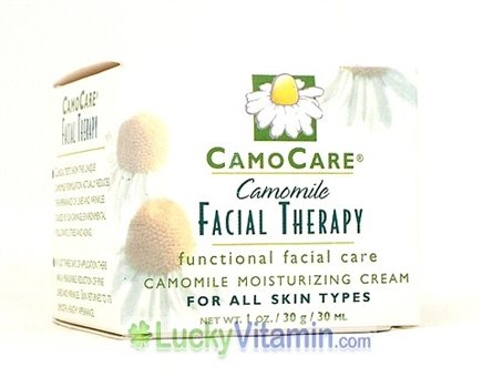 DROPPED: CamoCare Organics - Camomile Facial Therapy Moisturizing Cream - 1 oz.