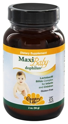 DROPPED: Country Life - Maxi Baby-Dophilus - 2 oz.