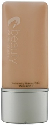 DROPPED: Beauty Without Cruelty - Natural Look Tinted Moisturizer Warm Satin 2 - 1.1 oz. CLEARANCE PRICED