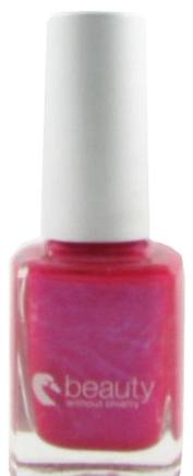 DROPPED: Beauty Without Cruelty - Nail Color High Gloss Fuschia - 0.37 oz. CLEARANCE PRICED