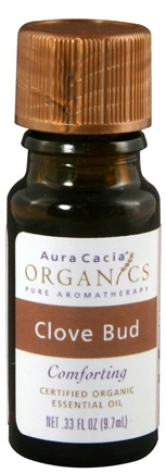 DROPPED: Aura Cacia - Essential Oil Organic Clove Bud - 0.33 oz.