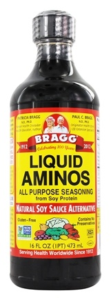 Bragg - All Natural Liquid Aminos All Purpose Seasoning - 16 oz.