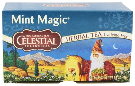 DROPPED: Celestial Seasonings - Mint Magic Herb Tea Caffeine Free - 20 Tea Bags