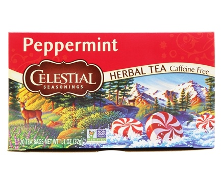 Zoom View - Peppermint Herb Tea Caffeine Free