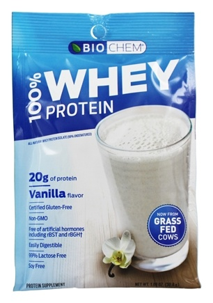 Zoom View - 100% Whey Protein Powder Packet