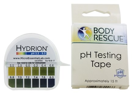 Zoom View - Body PH Testing Tape