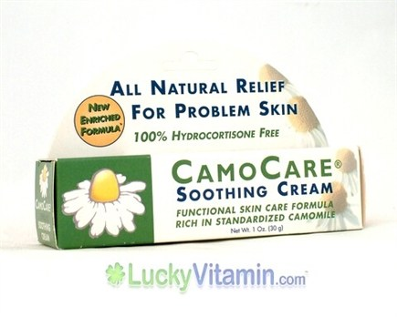 DROPPED: CamoCare Organics - Soothing Cream - 1 oz.