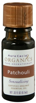 DROPPED: Aura Cacia - Essential Oil Organic Patchouli CLEARANCE PRICED - 0.33 oz.