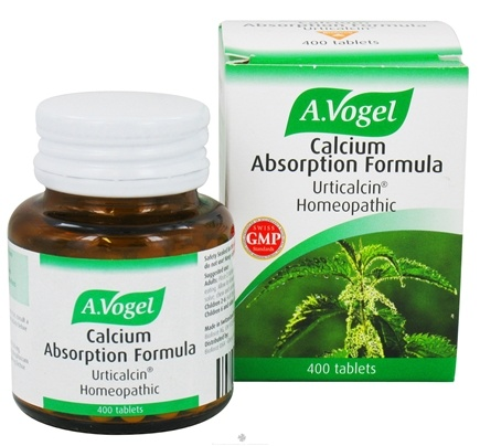 DROPPED: A.Vogel - Calcium Absorption Formula - 400 Tablets