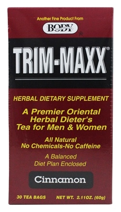 Body Breakthrough - Body Trim-Maxx Tea Cinnamon - 30 Bags