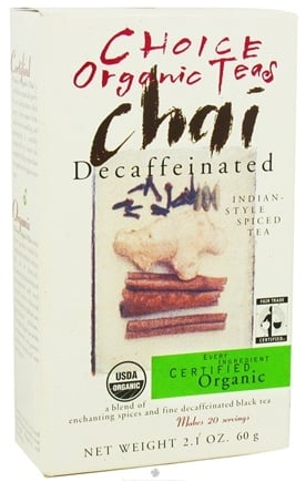 Zoom View - Chai Tea Decaffeinated