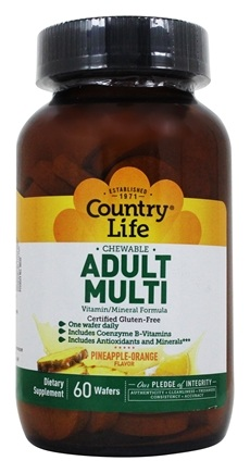 Zoom View - Chewable Adult Multi