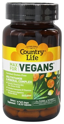 Zoom View - Maxi Sorb Vegetarian Support Vegan Multivitamin & Mineral