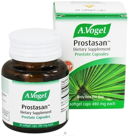 DROPPED: A.Vogel - Prostasan One-A-Day Prostate Capsules 480 mg. - 30 Softgels