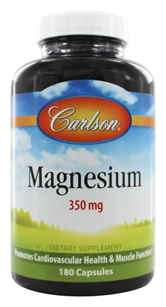 Carlson Labs - Magnesium 350 mg. - 180 Capsules