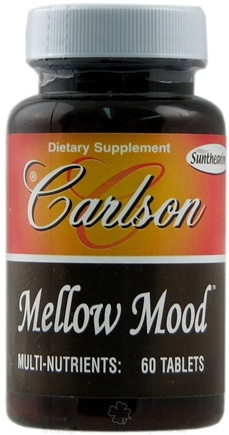 DROPPED: Carlson Labs - Mellow Mood - 60 Tablets