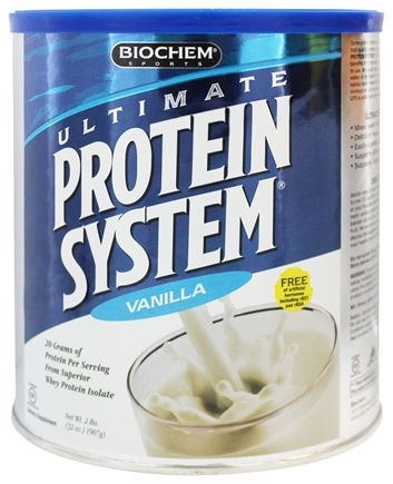 BioChem by Country Life - Ultimate Protein System Vanilla - 2 lbs.