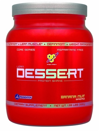 DROPPED: BSN - Lean Dessert Protein Shake Banana Nut Bread - 1.39 lbs. CLEARANCE PRICED