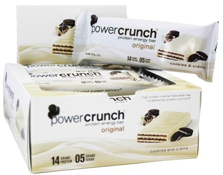 Power Crunch - High Protein Energy Wafer Cookies & Creme - 1.4 oz.
