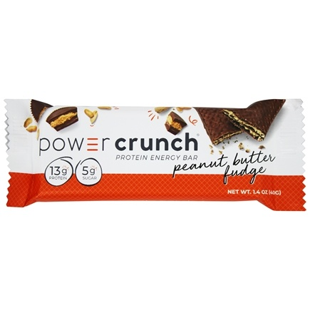 Power Crunch - High Protein Energy Wafer Bar Peanut Butter Fudge - 1.4 oz.